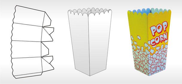Как сделать стакан для попкорна своими руками