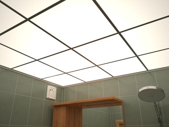 Как сделать подвесной потолок из оргстекла - своими руками с подсветкой - смотреть видео (видео)