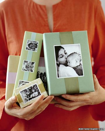 Как красиво подарить фотографии