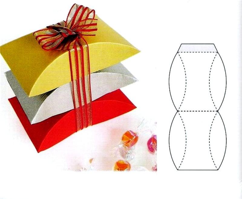 Подарок из бумаги или картона