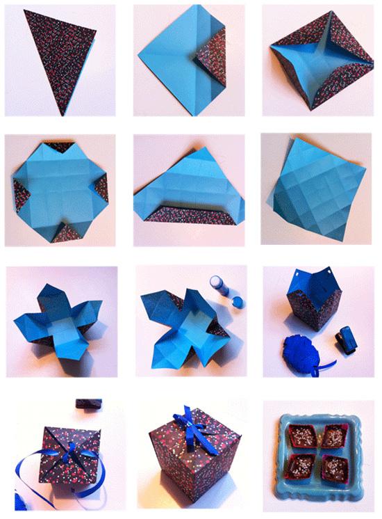 Как сделать подарок видео оригами