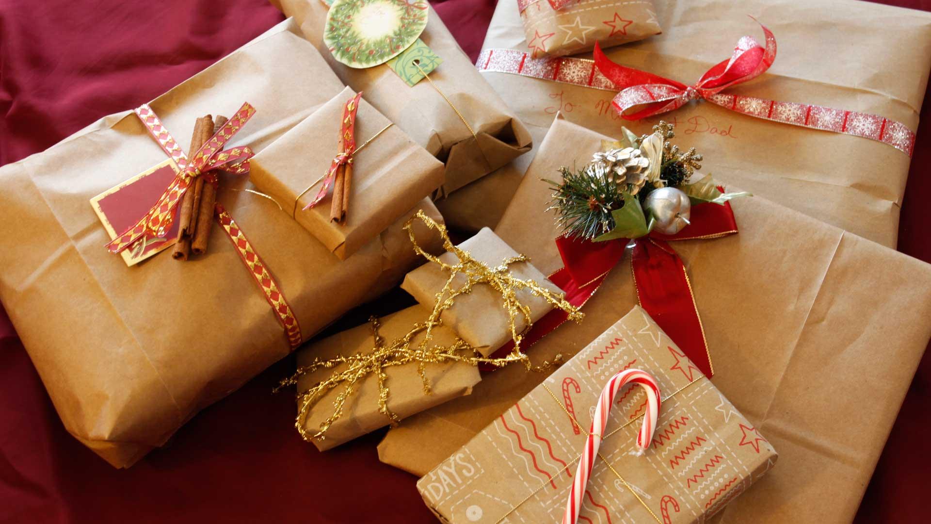Как упаковать подарок смотреть