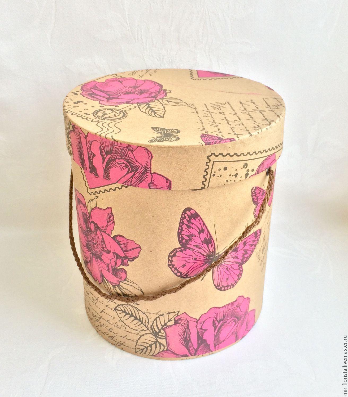 Как изготовить шляпную коробку своими руками