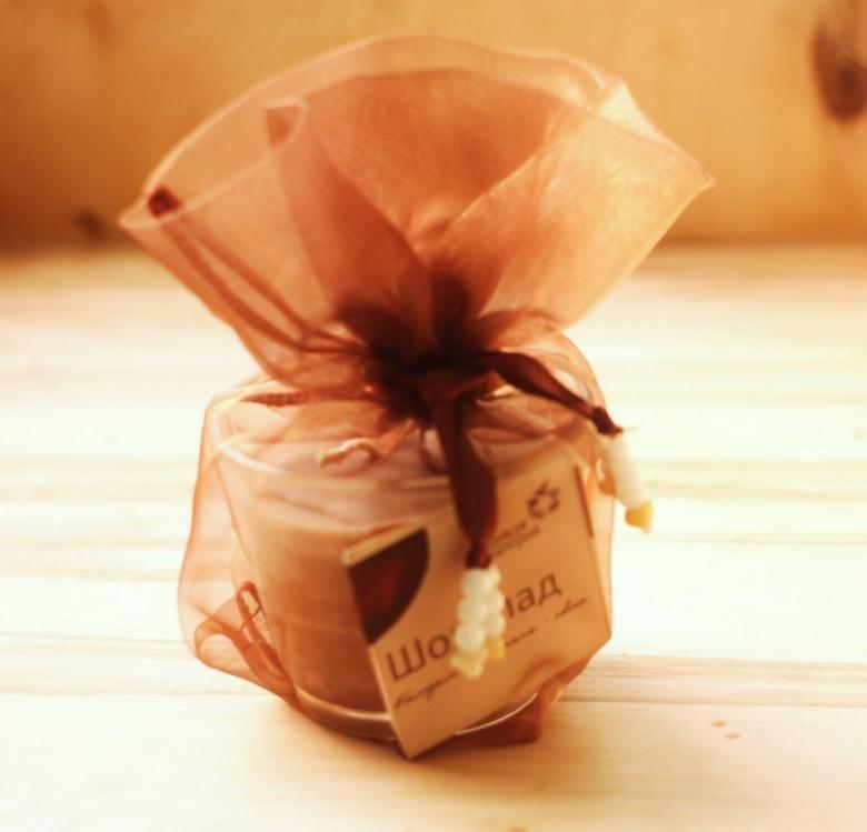 Упаковка круглого подарка 67