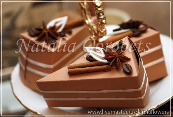 Как украсить коробку для торта