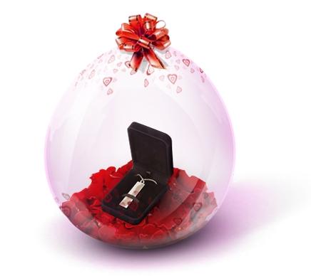 Упаковка подарка в шар своими руками