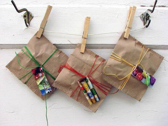 Упаковка подарка ребенку своими руками