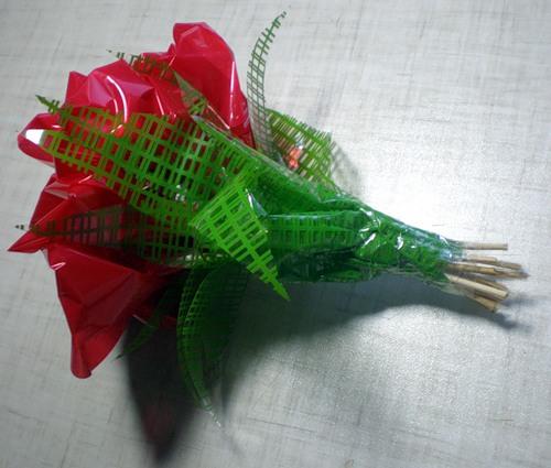 Упаковка роз в органзу мастер класс - УО РМД
