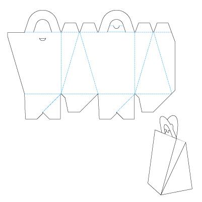 Пакет упаковка своими руками схема