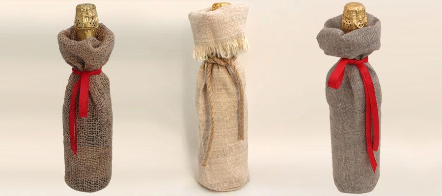 Необычная упаковка для вина своими руками 9