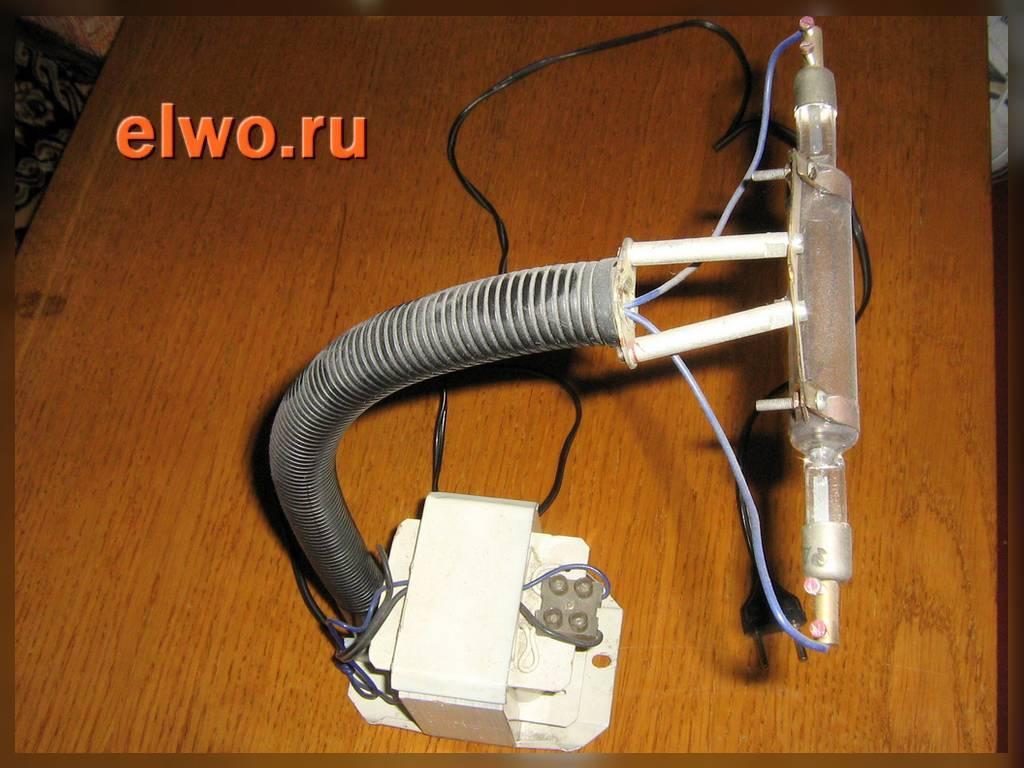Как в домашних условиях сделать лампу вуда в 454