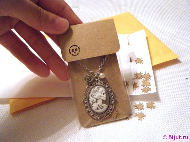 Упаковка для украшений ручной работы своими руками
