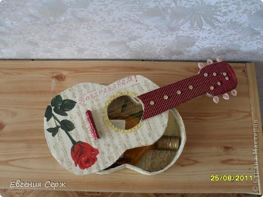 Гитара из картона своими руками пошаговое фото 110