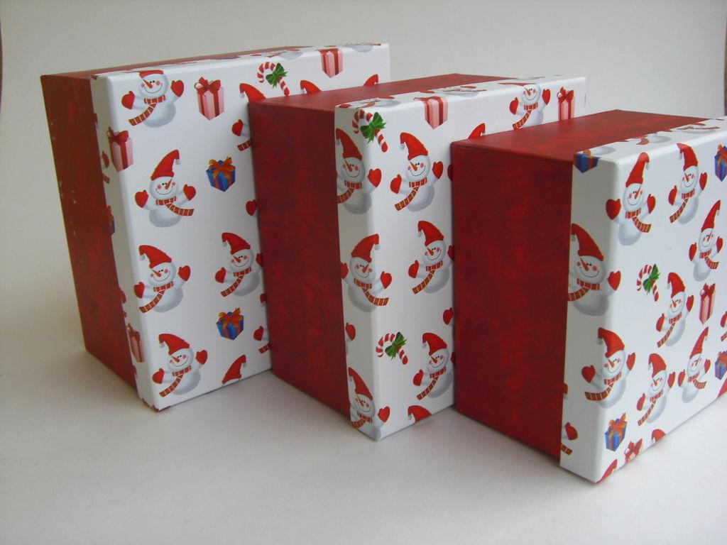 Размер упаковки подарка