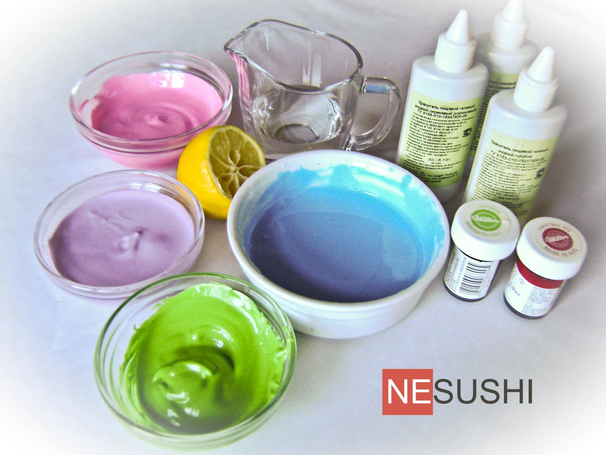 Как сделать краски в домашних условиях рецепт