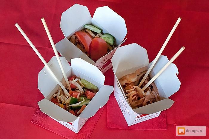 Коробочка для китайской еды