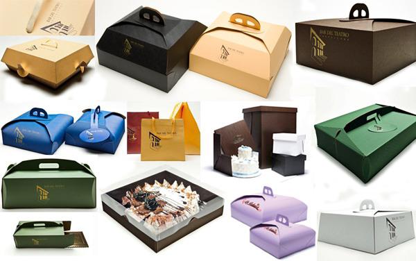 Производство коробок из картона с логотипом