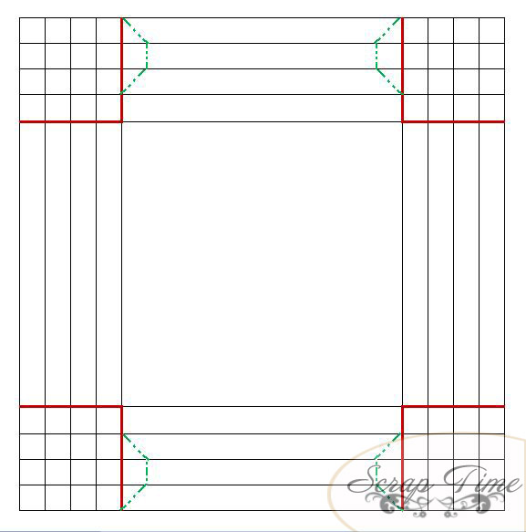 Рамки из бумаги схемы шаблоны а4