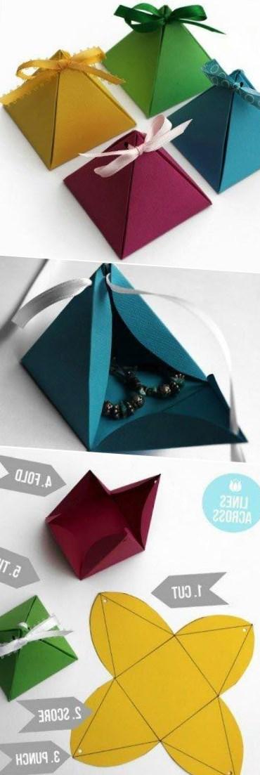 Упаковка подарков своими руками инструкция 60