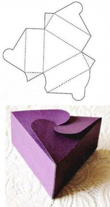 Как сделать простую коробочку из бумаги своими руками с крышкой
