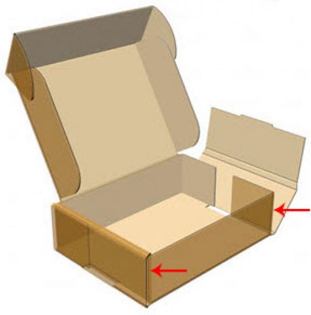 Как сделать ящик из коробки своими руками