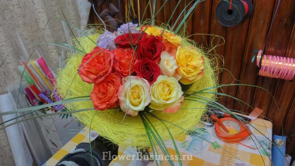 Составить букет из цветов фото
